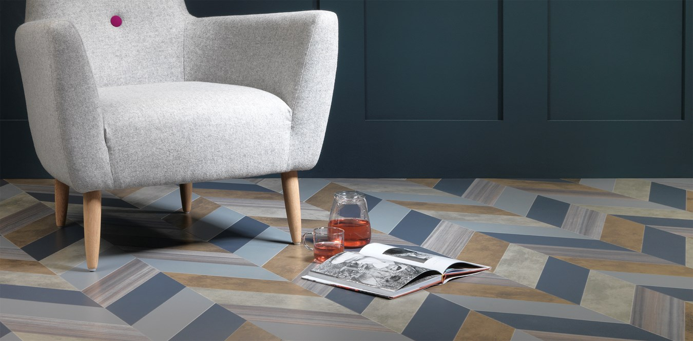 Amtico vinyl met Partners in Design